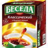 ЧАЙ БЕСЕДА КЛАССИЧЕСКИЙ Ч/ПАКЕТ  100*1,8Г*20