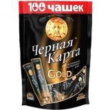 КОФЕ ЧЕРНАЯ КАРТА ГОЛД ПАК.2Г*100*6